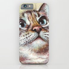 Cat Watercolor Slim Case iPhone 6s