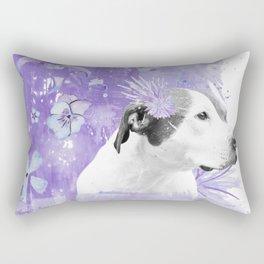 Sugarplum Pitbull Rectangular Pillow