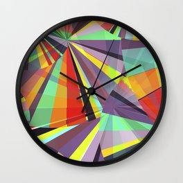 Magic circles number one Wall Clock