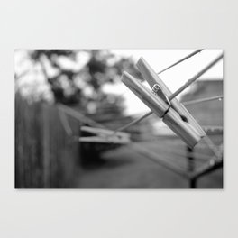 Clothes Pin 2 Canvas Print