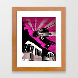 Justin Time Framed Art Print