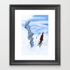 Flying With you Framed Art Print