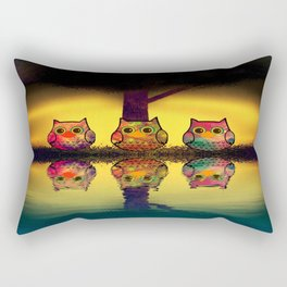 owl-206 Rectangular Pillow