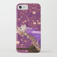 lanterns iPhone & iPod Cases featuring Lanterns by Kimberly Castello