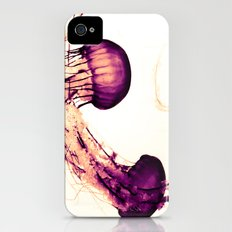 Intertwined Jellyfish Slim Case iPhone (4, 4s)