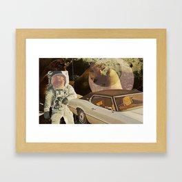 Moon Days Framed Art Print