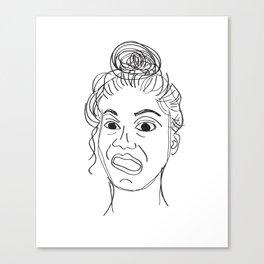 crayfie Canvas Print