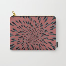 Mauve Spiral Carry-All Pouch