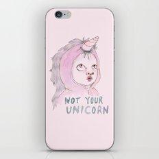 Not Your Unicorn iPhone & iPod Skin