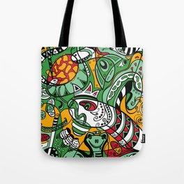Snake - 12 Animal Signs Tote Bag