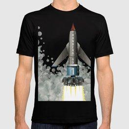 Thunderbird 1 Space Rocket Launch T-shirt