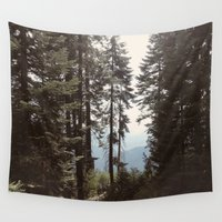 california Wall Tapestries featuring California by Katie Corley