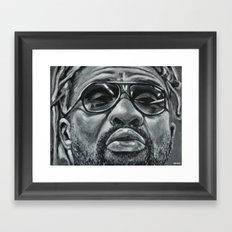 rudebwoy part2 /b&w/ Framed Art Print