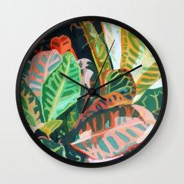 Plant Study 1 Wall Clock