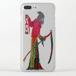 The Crushing Weight of Defeat:  Divide Clear iPhone Case