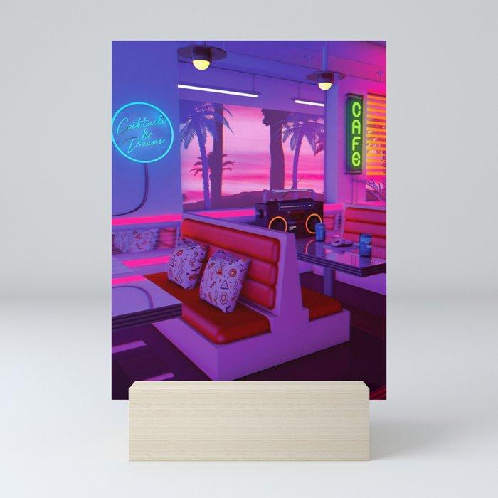 Cocktails And Dreams Mini Art Print