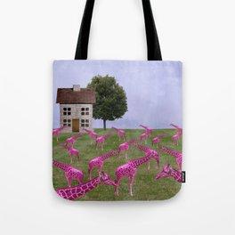 Lawn Ornaments Tote Bag