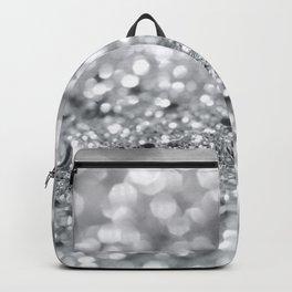 Silver Gray Lady Glitter #1 #shiny #decor #art #society6 Backpack
