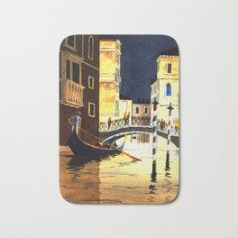 Evening In Venice Italy Bath Mat