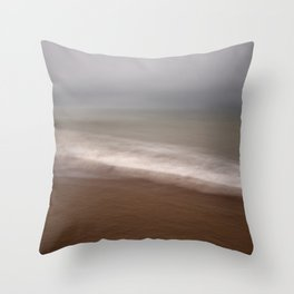 The Channel Throw Pillow