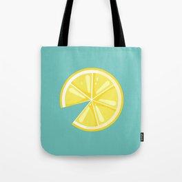 Summer Lemon Tote Bag