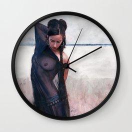 Desert Gypsy Demon Woman Wall Clock