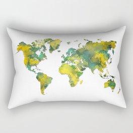 World Map 2038 Rectangular Pillow