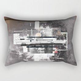 """""""Hennepin"""" Graphic Art Print Rectangular Pillow"""