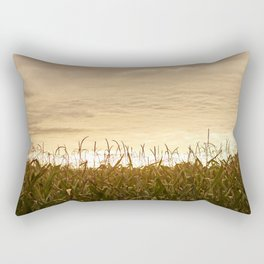 Praying for rain Rectangular Pillow