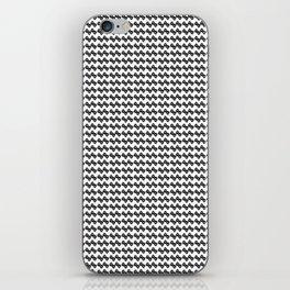 BW flower pattern 1 iPhone Skin