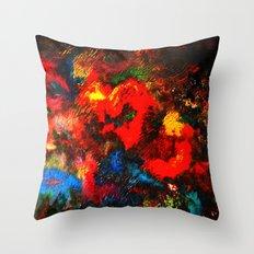 Bold colors  Throw Pillow