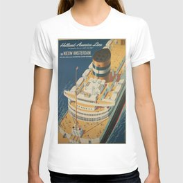 Vintage poster - Cruise ship T-shirt
