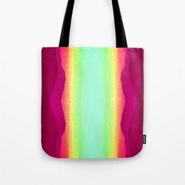 Psychedelic Hillside Tote Bag