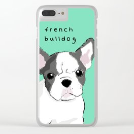 french Clear iPhone Case
