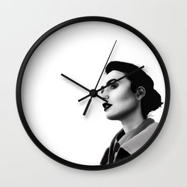 Lily Collins Wall Clock