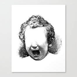 The One With The Screamer Canvas Print