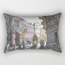 Diagon Alley Rectangular Pillow