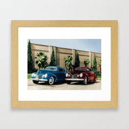 Johnny Zaro - Al Adril '40 Merc Framed Art Print