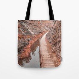 Paw Paw Boardwalk Trail - Pastel Fantasy Tote Bag