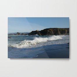 Glass Beach California #1 Metal Print