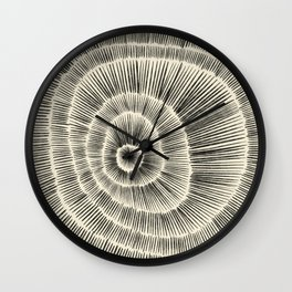 Hand Drawn Patterned Abstract III Wall Clock