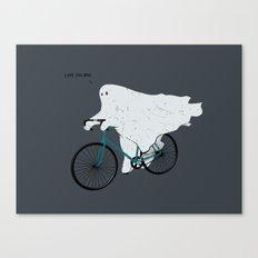 Negative Ghostrider G Canvas Print