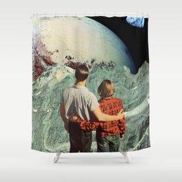 Introspective Shower Curtain