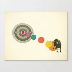 Bull's Eye : Taurus Canvas Print