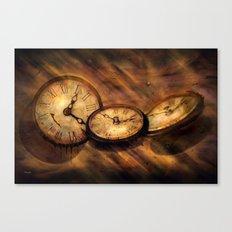 Die Zeit vergeht im Flug Canvas Print