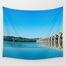 Blue Susquehanna River Wall Tapestry