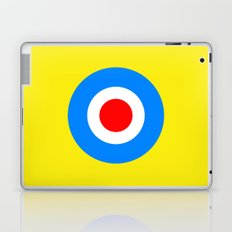 Abstract Pop Yellow Laptop & iPad Skin