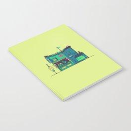 Cyberpunk Tea Shack Notebook