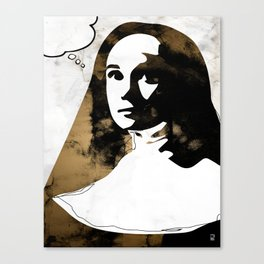 Sister Luke Canvas Print