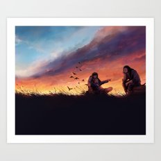 The Hobbit: Bond Art Print